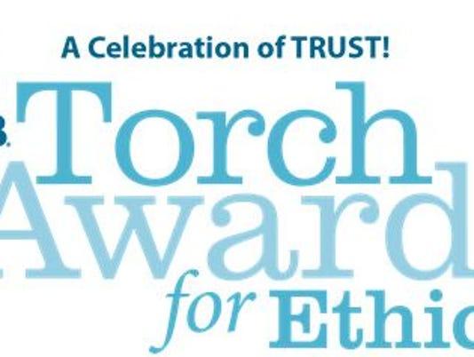 Torch Awards for Ethics logo.