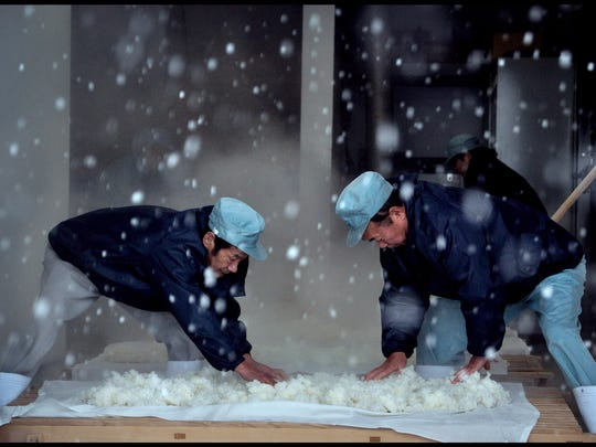 """A scene from """"The Birth of Sake"""""""