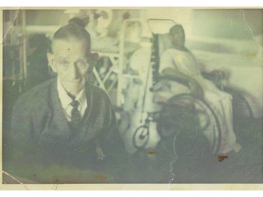 Arthur Smith on his 100th birthday in 1965.