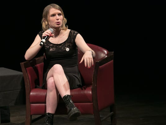 Chelsea Manning at Bard College