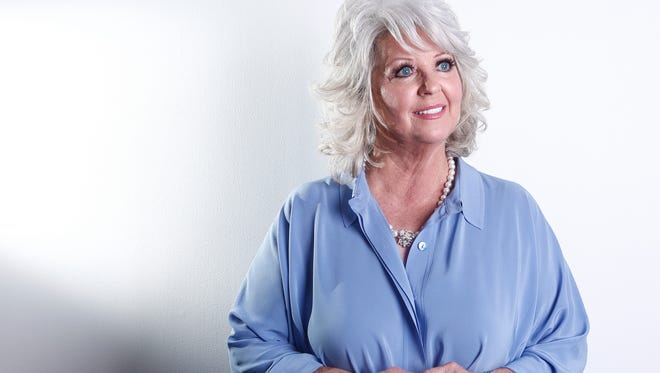 Celebrity chef Paula Deen poses for a portrait in New York on Jan. 17, 2012. The Paula Deen Network, that is heavy on new videos starring the celebrity chef, goes live Wednesday, Sept. 24, 2014.