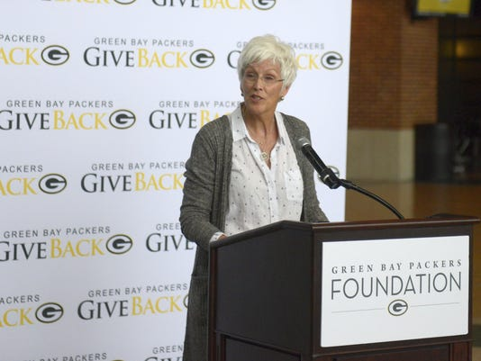 Tracy Arndt Packers impact grants