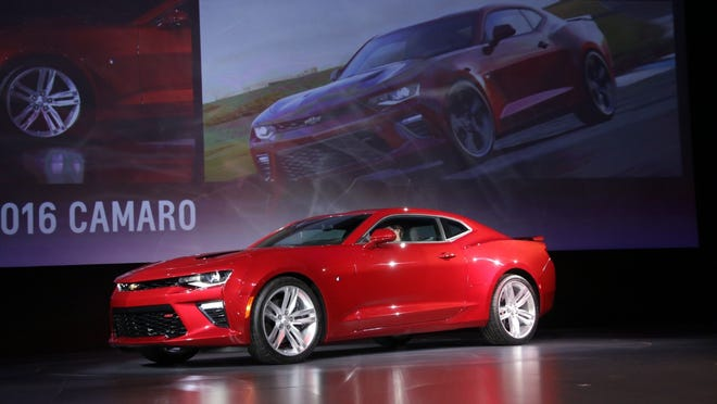 """The 2016 Camaro's delivers high performance as well as better fuel economy, said engineer Aaron Link. """"It's the whole shootin' match."""""""