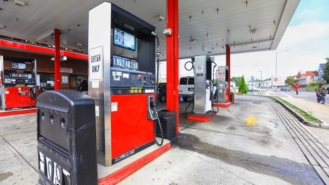 A man was stabbed outside the Stop 'N Gas station, at 81 Warren Ave. in Brockton, Sunday night. The gas station is pictured Monday, Aug. 24, 2020.