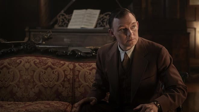 """Weymouth's Nate Corddry in a scene from the new HBO drama series, """"Perry Mason.""""  Photograph by Merrick Morton/HBO"""