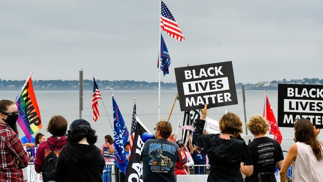 The Swampscott Board of Health unanimously passed a public order on Tuesday, Sept. 8, establishing four mandatory mask zones, in part, due to the growing Thursday morning rallies and protests.