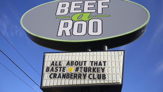 Beefaroo, founded in 1967, employs about 200 people at its three stores in Rockford, including this restaurant at 2538 Auburn St., two in Loves Park and at its single locations in Machesney Park and Roscoe. The fast food chain plans to open another restaurant in West Dundee in January.