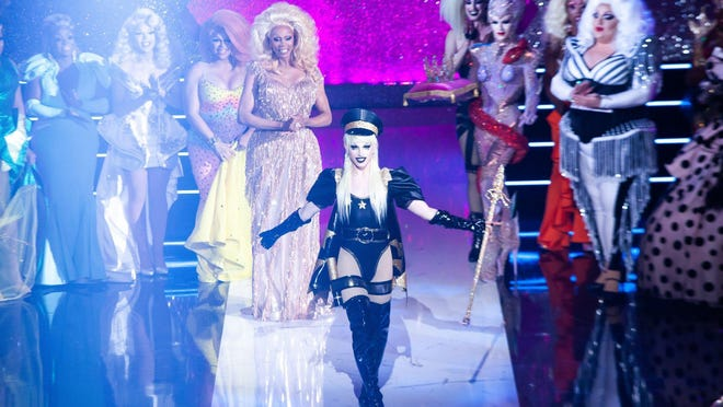 """RuPaul's Drag Race"" Season 10 winner Aquaria was one of the drag queens set to stop at the H-E-B Center this month for a Christmas drive-in drag show. The tour dates have now been postponed."