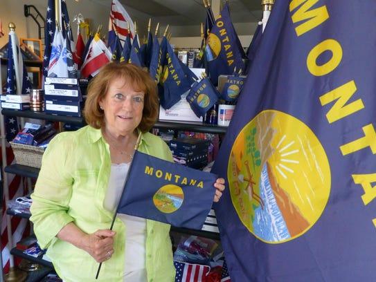 Pat Verzani of Montana Flag and Pole says many people