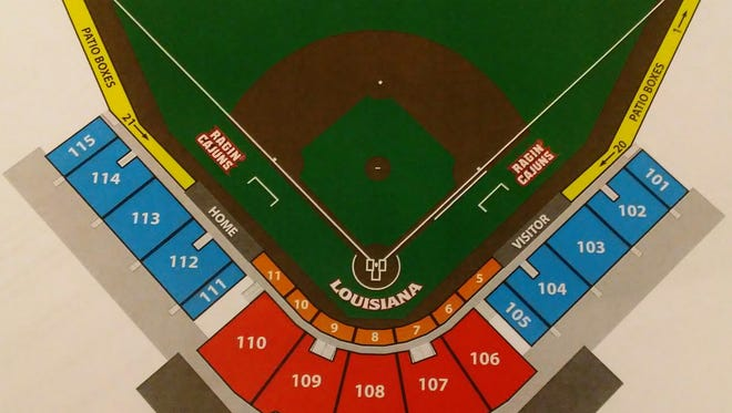 """Russo Park at ML """"Tigue"""" Moore Field."""