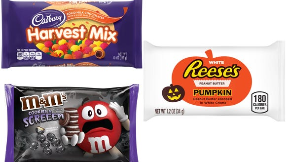 Our choices for top candies include: Reese's Peanut