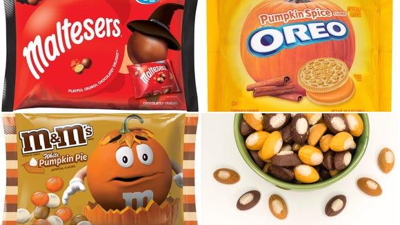 Maltesers, Pumpkin Spice Oreos, White Pumpkin Pie M&M's