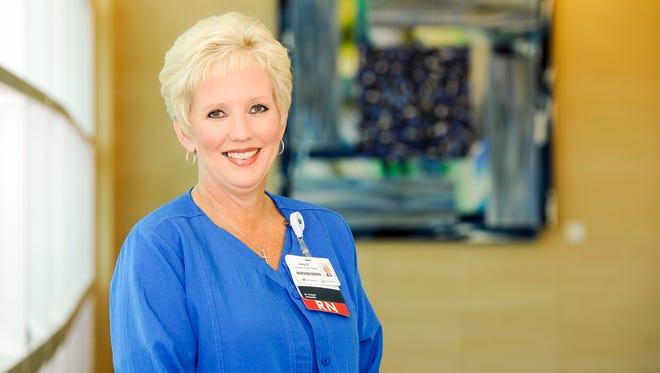 Amy Harris, RN- Cardioplumonary Rehabilitation, St. Vincent.