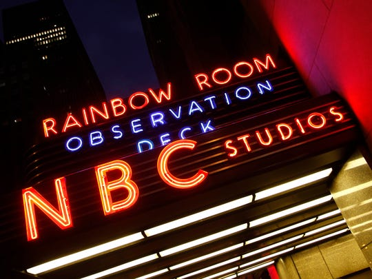 nbc sign ge building 2009