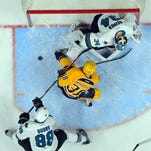 5 takeaways from Predators' 3-2 loss to Sharks