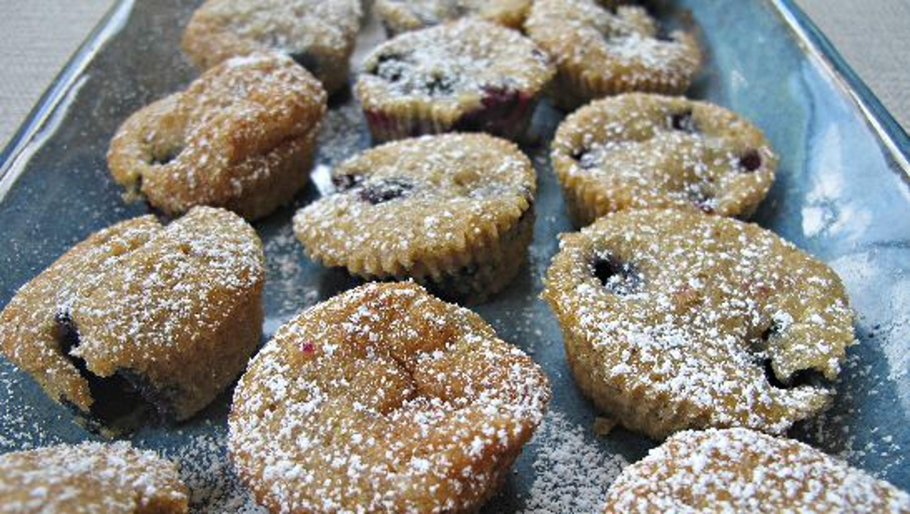 Zucchini Blueberry Muffins Food Network