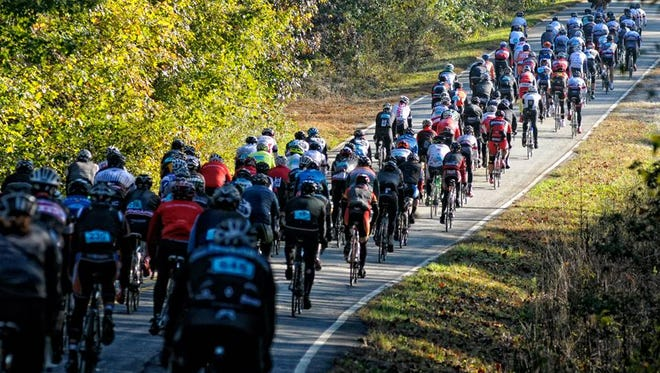 As many as 2,000 riders are expected for this weekend's Gran Fondo Hincapie cycling event.