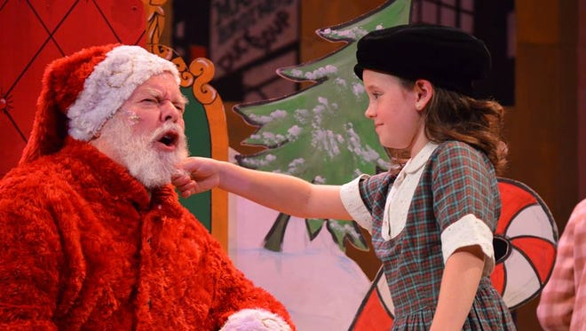 Springfield Little Theatre's Miracle on 34th Street The Musical will be presented through Dec. 13 at the historic Landers Theatre.