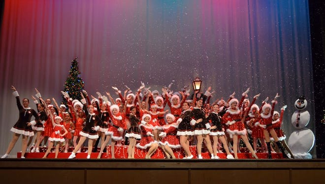 "Celebrate Christmas with the Dance Magic studio during their performance ""Holiday Magic."""