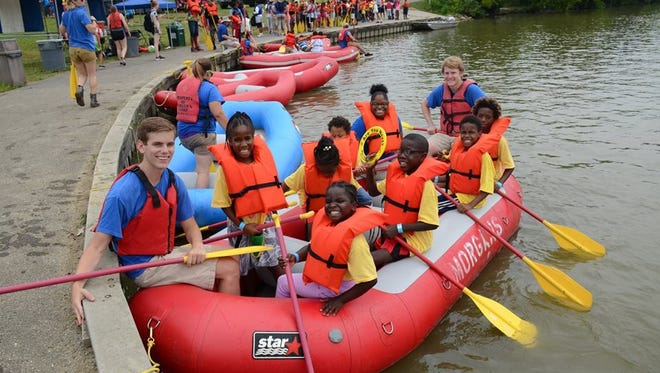 Rafting is just one of dozens of activities happening at the annual Kids Outdoor Adventure Expo.