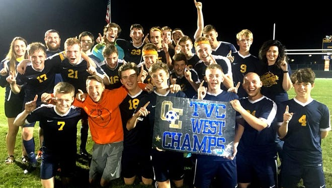 Ovid-Elsie soccer is entering the postseason unbeaten and won the TVC West title this season.