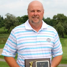 Westland resident Jeff Orzel won the first flight championship during this weekend's O&E men's golf tournament.