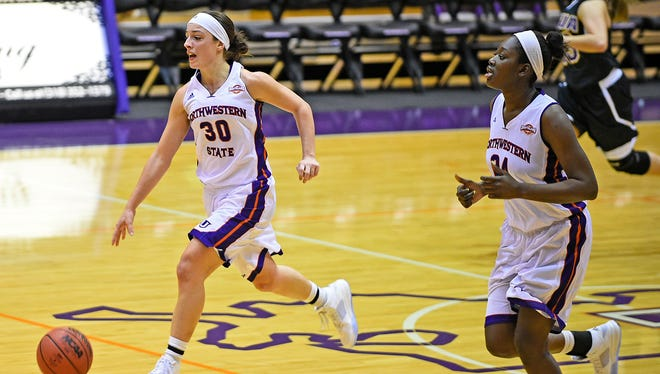 Beatrice Attura (30) scored 10 points to lead NSU against Memphis on Wednesday.