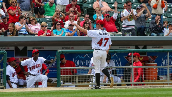 FILE --- Clayton Richard of the Indianapolis Indians
