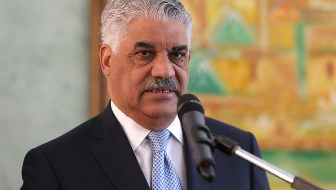 Miguel Vargas, ministro dominicano de Relaciones Exteriores.