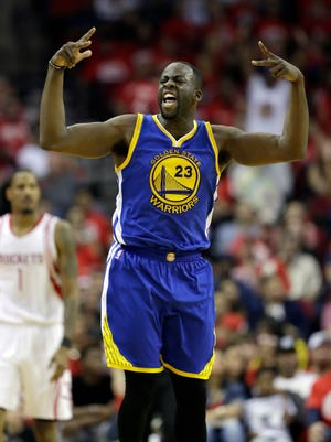 Draymond Green and the Warriors took a 3-1 series lead on the Rockets.