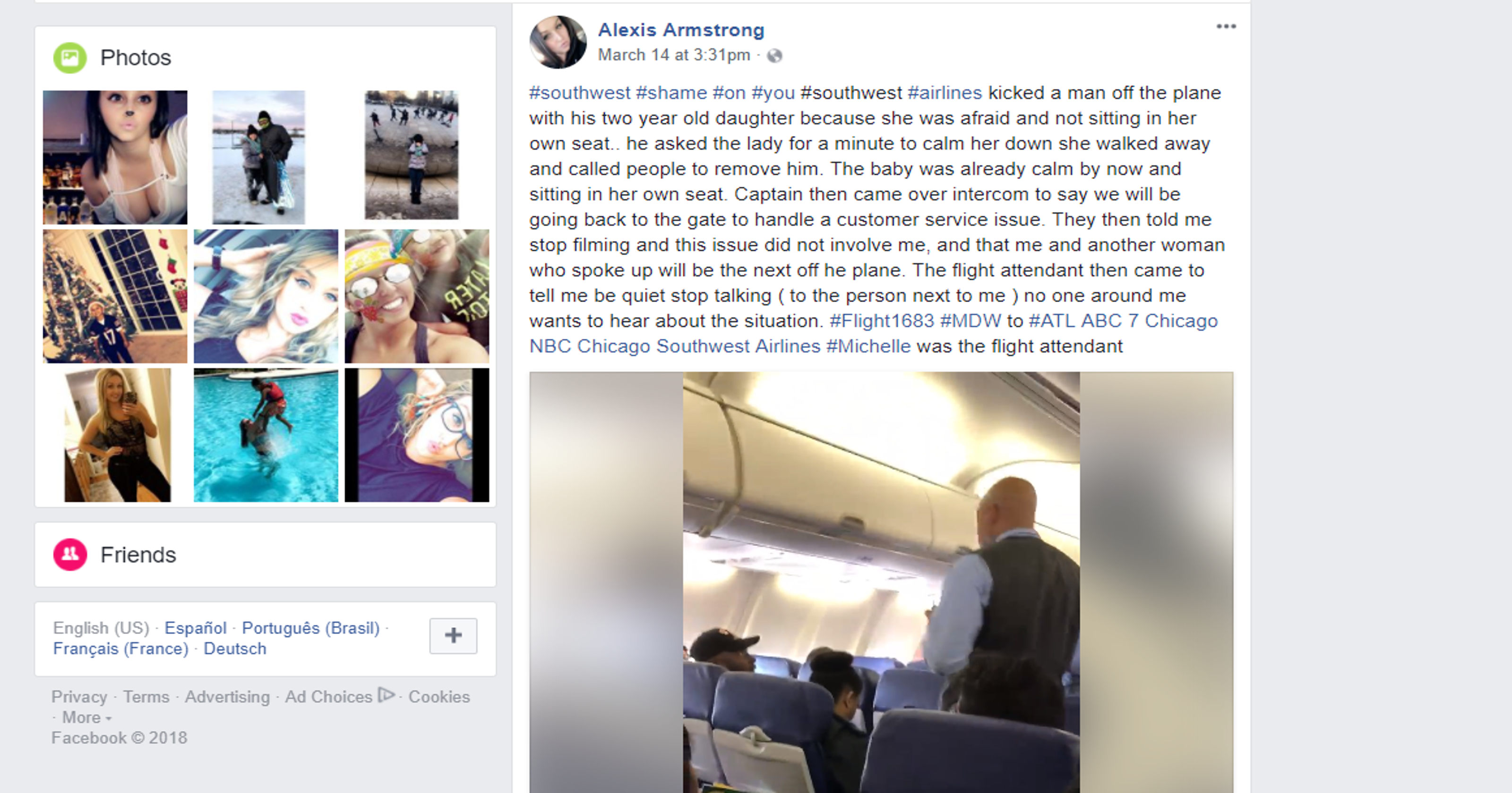 b7ba82629dd6 Video shows father and toddler being kicked off a Southwest flight