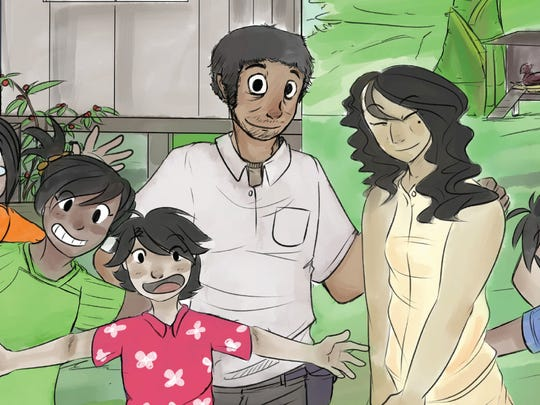 """""""I Malingu na Påtgon"""" is a new children's book written by Rufina Fejeran Mendiola and illustrated by Joseph Flores Sablan.  The book, published by Taiguini Books, launches May 7 at the University of Guam."""