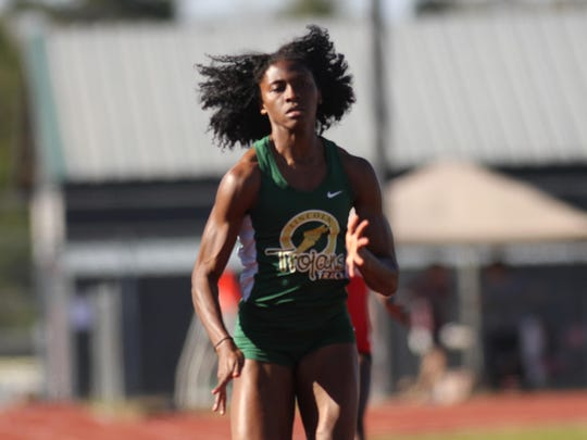 Lincoln senior Tamani Wilson is tracking towards state