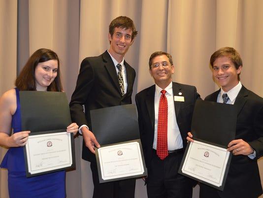 WCU scholarship recipients
