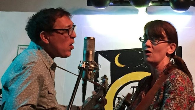 Hungrytown, featuring Rebecca Hall and Ken Anderson, will perform at 7:30 p.m. Friday at Back Door Coffeehouse in the fellowship hall of University Baptist Church.