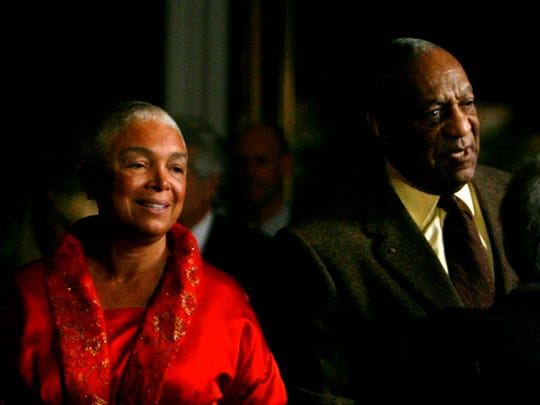 Bill and Camille Cosby at the Kennedy Center on  Oct.