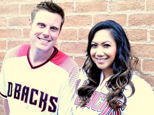 Chris and Nina host the morning show on KMLE-FM (107.9).