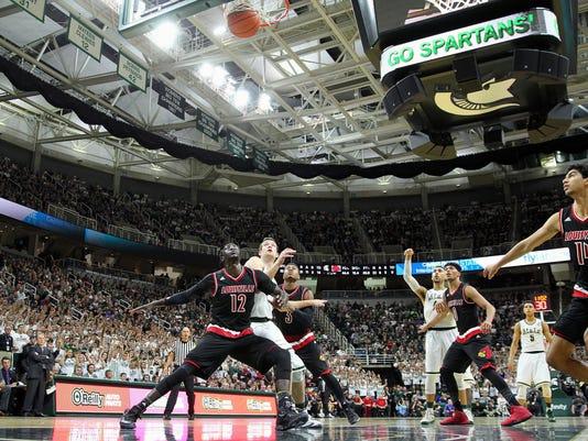 NCAA Basketball: Louisville at Michigan State