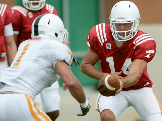 Tennessee Practice Football