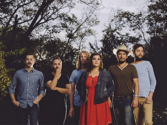 From left, Mike Seal, Jonathan Keeney, Bowman Townsend, Trisha Gene Brady, Cruz Contreras and Sam Quinn make up the current incarnation of the Black Lillies.
