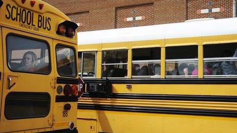 The Staunton School Board will meet at 6 p.m. Monday night.