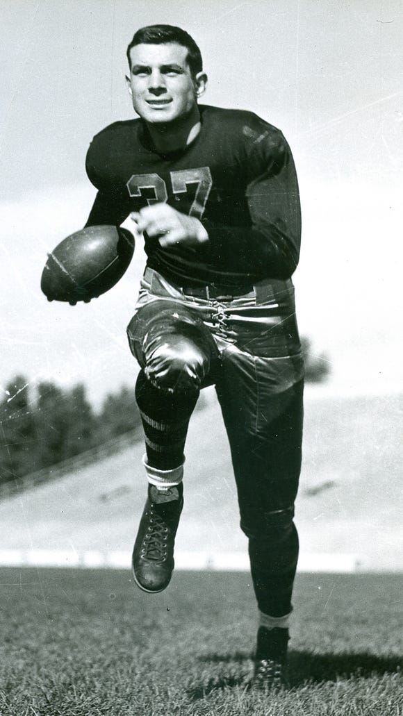 John Pingel, who starred for MSU in the late 1930s,