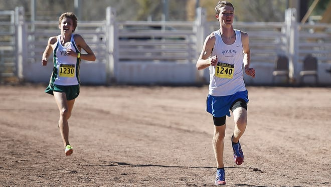 Poudre High School's Henry Raymond, shown during Colorado's state meet, finished 13th at nationals in Oregon over the weekend.