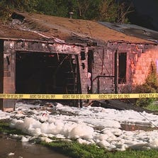 Fort Worth home catches fire