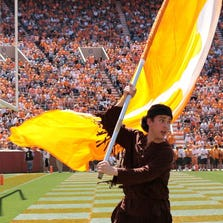 Davy Crockett is one of the University of Tennessee mascots.