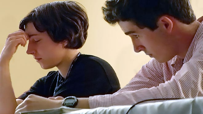 """Mikayla and JP study up for a national championship of religious knowledge in the documentary """"Bible Quiz."""""""