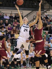 Allie LeClaire scored 1,489 career points for UWGB.
