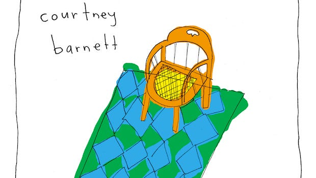 """Courtney Barnett', """"Sometimes I Sit and Think, and Sometimes I Just Sit"""""""