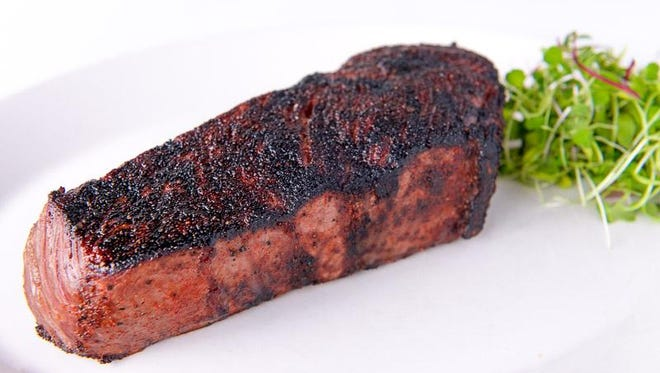 The Dallas Clark, a 14-ounce prime NY strip steak from Tony's Steakhouse.