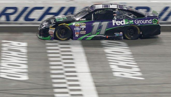 Denny Hamlin's home track of Richmond International Raceway has yielded three wins in 21 Cup starts.